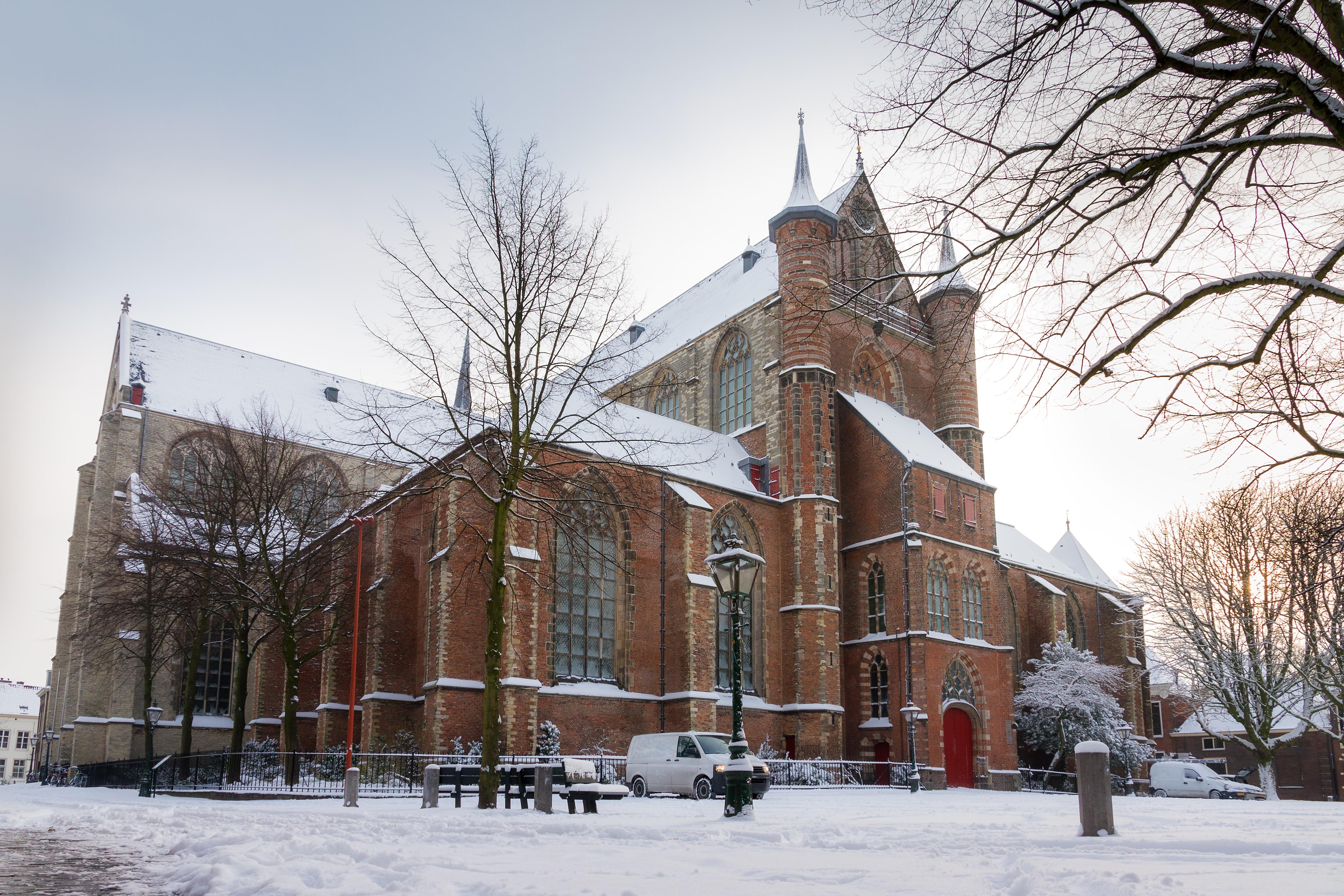 Pieterkerk te Leiden - Istock 1