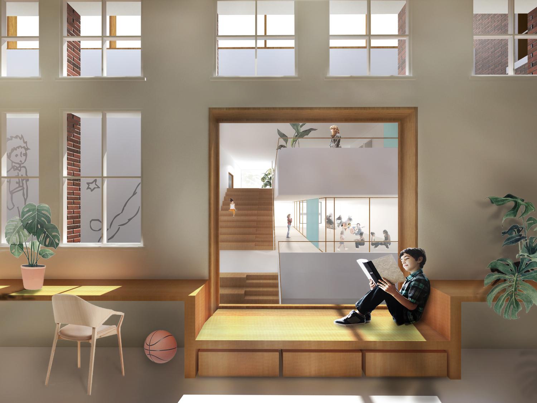 Interior render 1